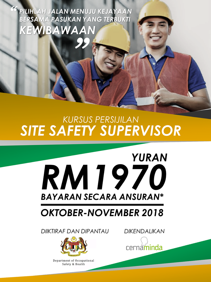 site safety supervisor course